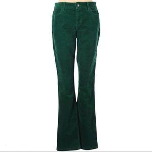 TALBOTS HERITAGE GREEN CORDUROY PANTS
